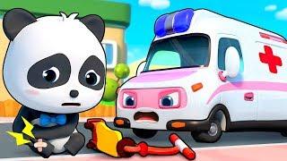Download Ambulance Rescue Team | Doctor Cartoon, Fire Truck | Nursery Rhymes | Kids Songs | BabyBus Video