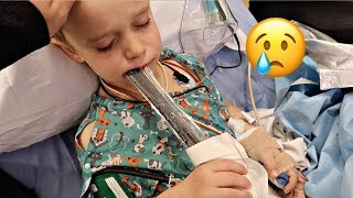 Download UNEXPECTED SURGERY COMPLICATION   WHAT TO EXPECT WHEN GETTING YOUR TONSILS AND ADNOIDS REMOVED Video