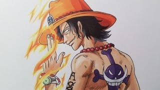 Download Drawing Portgas D. Ace - One Piece Video