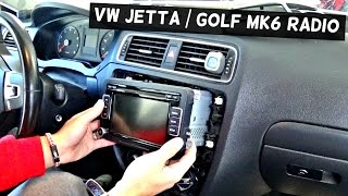 Download VW JETTA MK6 RADIO REMOVAL REPLACEMENT VW GOLF MK6 2011 2012 2013 2014 2015 2016 Video