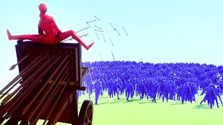 Download 1 WEAPON vs. 1000 PEASANTS! (Totally Accurate Battle Simulator) Video