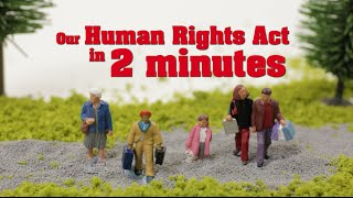 Download Our Human Rights Act explained in 2 minutes Video