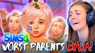 Download 👏 WORST 👏 PARENTS 👏 EVER. (The Sims 4 #18! 🏡) Video