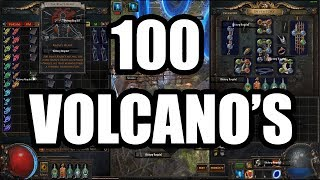 Download Loot from 100 Volcano Maps Video