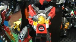 Download 10 yr. old's robot invasion Video