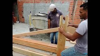 Download mão de amigo para telhados em menor tempo montando tesoura sem prego ou parafuso Video