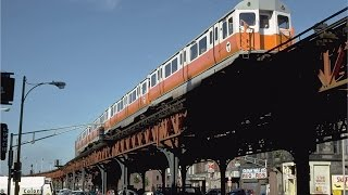 Download Passengers take last ride on Boston's elevated rapid transit rail Video