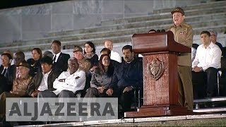 Download World leaders pay last respects to Fidel Castro Video