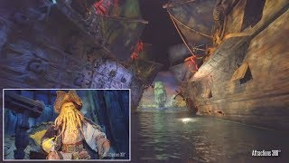 Download [4K] Immersive Pirates Ride at Shanghai Disneyland - Amazing Ride Technology Video