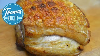 Download Schweinekrustenbraten mit dunkler Soße / Thomas kocht Video
