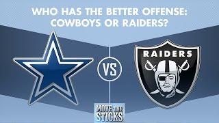 Download Cowboys or Raiders: Who Has the Better Offense? | Move the Sticks | NFL Video