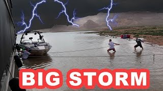 Download Scary Storm at Lake Powell Video
