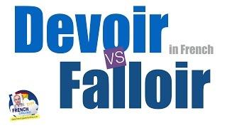 Download falloir vs devoir in French Video