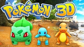 Download The BEST POKEMON Game EVER! (Pokemon 3D #1) Video
