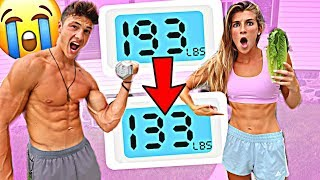 Download Who can LOSE the MOST WEIGHT in 24 Hours - Challenge Video