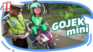 Download JADI GOJEK MINI EH KE RAZIA POLISI !! Video