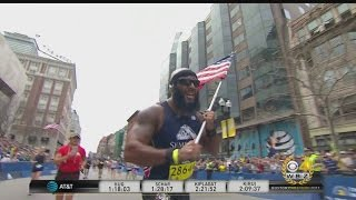 Download Marine Finishes Boston Marathon For Semper Fi Fund Video