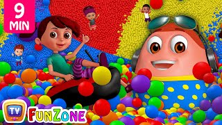 Download Learn Colours, Alphabets & Numbers | Surprise Eggs Ball Pit Show for Kids | ChuChu TV Funzone 3D Video