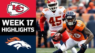 Download Chiefs vs. Broncos | NFL Week 17 Game Highlights Video