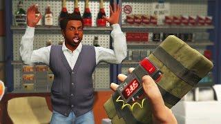 Download GTA 5 STICKY BOMB TROLLING! WILL HE SURVIVE!? (GTA 5 Online Trolling) Video