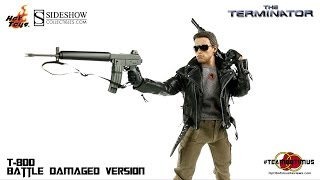 Download Video Review of the Hot Toys: The Terminator T-800 Battle Damaged Version Video
