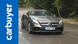 Download Mercedes SLC convertible 2016 review – Carbuyer Video