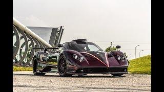 Download Car Spotting outside the Pagani Factory | Huayra Roadster, Zonda 5 & More!!! Video