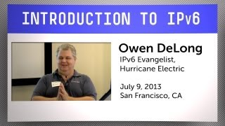 Download Introduction to IPv6 Video