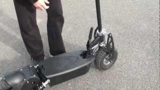 Download 1000 Watt 36 Volt All Terrain Electric Scooter Review Video