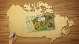 Download Map Canada with Google Map Maker Video
