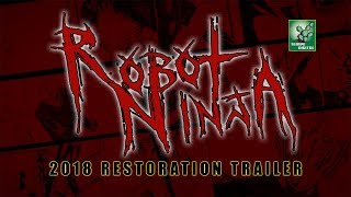 Download ROBOT NINJA (2K Restoration Trailer) Video