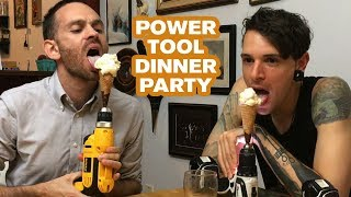 Download Power Tool Dinner Party | Joseph's Machines Video