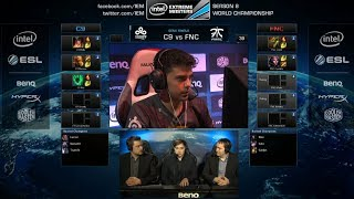 Download Cloud 9 vs Fnatic | Game 1 Semifinals IEM Katowice WC LOL 2014 | C9 vs FNC Video