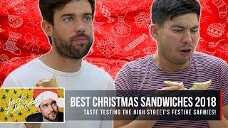 Download Taste Testing The High Street's Festive Sarnies! Video