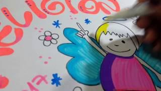 Download Cómo marcar cuadernos de religión. Con muñeco angelito Video