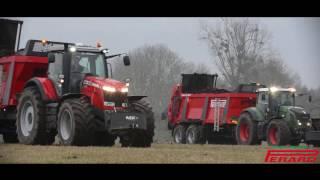 Download Epandeurs Perard Optium CL200-T | Massey 8730 & Fendt 927 Vario ! Video