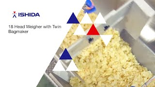 Download Ishida Europe - Snacks Packing System : 18 Head Weigher with Twin Bagmaker Video