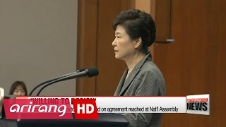 Download President Park to step down based on agreement reached at Nat'l Assembly Video