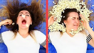 Download 17 Lazy Girl Hacks / Weird Life Hacks That Work Great Video