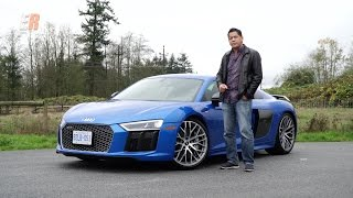 Download 2017 Audi R8 V10 Plus - A 610HP Everyday Supercar Review Video