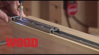 Download How to Install 3 Types of Drawer Slides in Cabinets - WOOD magazine Video