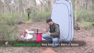 Download Camping Toilet tips, Bush Toilet & Portable toilet options Video