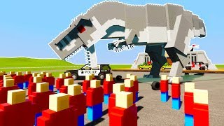 Download INDOMINOUS REX ATTACKS FIELD TRIP - Brick Rigs Lego Detective Case RolePlay Video