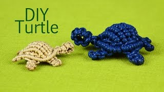 Download How to: Macramé Turtle, Tortoise, Tortue, Tortuga, Tartaruga Video