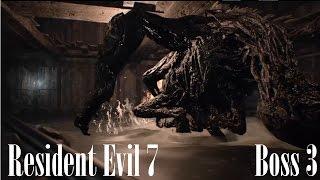 Download Resident Evil 7: Third Boss Fight (Final Battle against Jack Baker) Video