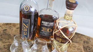 Download Rum Tasting: Zaya 12, Mount Gay XO, Plantation 20 Video