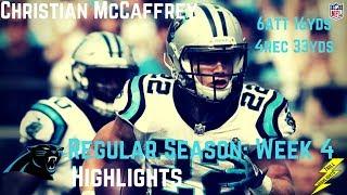 Download Christian McCaffrey Week 4 Regular Season Highlights   10/01/2017 Video