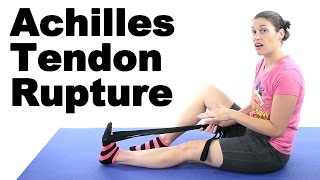 Download Achilles Tendon Rupture Stretches & Exercises - Ask Doctor Jo Video
