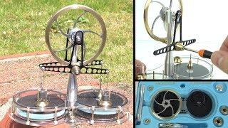 Download Assembling a Stirling Engine Kit - The engine that can be powered by a set-top box Video