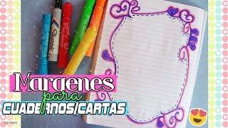 Download Margenes para Cuadernos/Cartas | Ideas Para Decorar Video